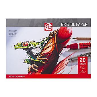 Talens Bristol Paper Pad 20 Feuilles A4
