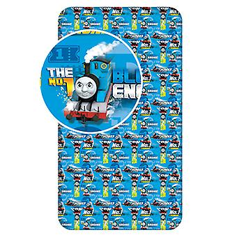 Thomas and Friends Single Fitted Sheet - Azul