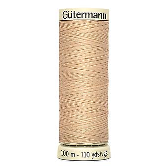 Gutermann Sew-all 100% Polyester Thread 100m Hand and Machine Colour Code  - 421