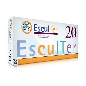 Sculpter Nº2 20 ampoules/ 40 pills