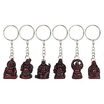 Something Different Buddha Keyrings (Box of 6)