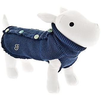 Ferribiella Pin-Up Sweater Blue (Dogs , Dog Clothes , Coats and capes)