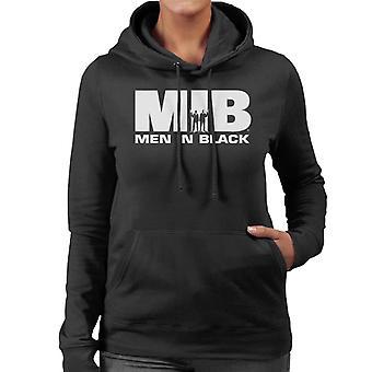 Men In Black MIB Logo Women's Hooded Sweatshirt
