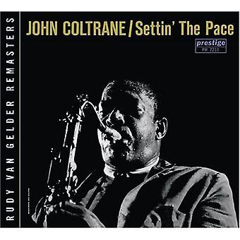 John Coltrane - Settin' the Pace [CD] USA import