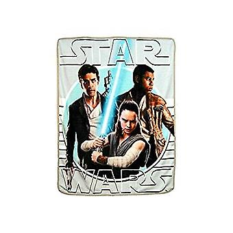 Super Soft Throws - The Last Jedi - New Resistance  New 45x60