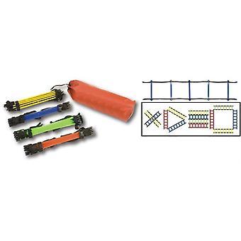 AG078P, Ensemble d'échelles d'agilité sectionnées (sections de 4 mètres)
