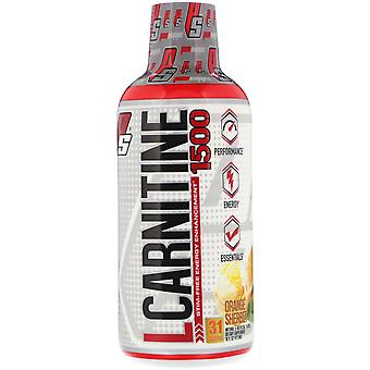 ProSupps, L-Carnitine 1500, Orange Sherbet, 1.500 mg, 16 fl oz (473 ml)
