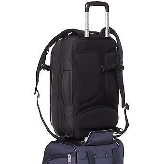 Basics Slim Carry On Laptop Travel Overnight, Black, Size Overnight