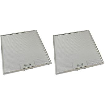 2 x universaali liesihuppu metallirasvasuodatin 324mm x 340mm