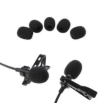 Balle ronde Lavalier Microphone Mousse -pare-brise Éponge Pare-brise