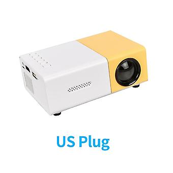 Projector Led 800 Lumens 3.5mm Audio 320x240 Pixels Hdmi Usb Mini Projector Home Media Player