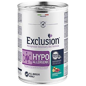 Exclusion Diet Formula Hypoallergenic Venado y Patata (Dogs , Dog Food , Wet Food)
