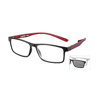 Leesbril Unisex Le-0191A Florida zwarte dikte +1.00