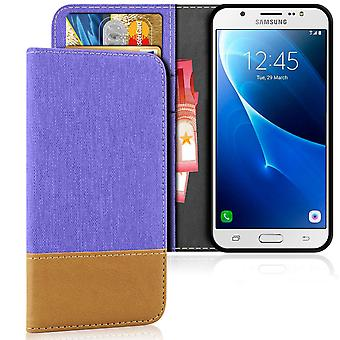 Mobile Shell Brieftasche für Samsung Galaxy J5 (2016) Mobile Case TPU Mobile Protection Magnet