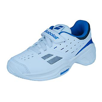 Babolat Pulsion Kid Junior Tennis Trainers / Shoes - White