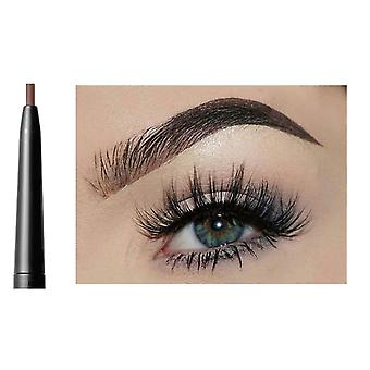 Waterproof, Natural And Long Lasting Eyebrow Pencil With Brush