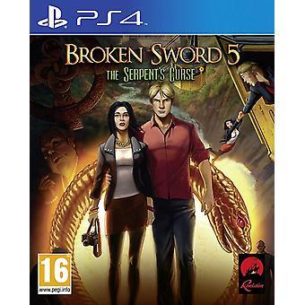 Broken Sword 5: The Serpent's Curse PS4 Game