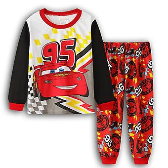 Baby Boys Super Mario gedruckt Schlafbekleidung Nachtwäsche Pajamas Set Baumwolle Set-3