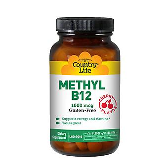 Country Life Methyl B-12, 1000 Mcg, 60 Loz