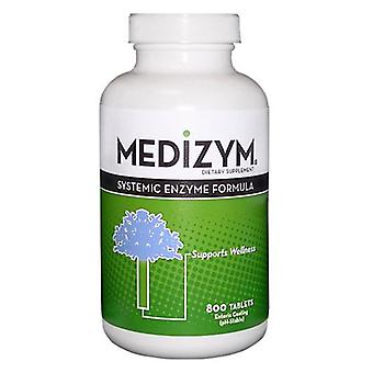 Naturally Vitamins Medizyms, 800 TAB
