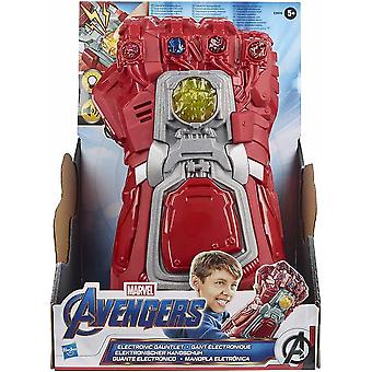 Marvel avengers endgame red infinity gauntlet electronic fist roleplay toy with