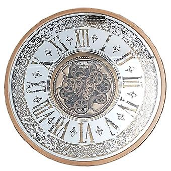 Persian Moving Cogs Clock Gold