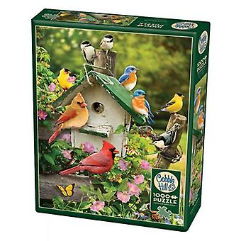 Cobble hill puzzle - sumer birdhouse - 1000 pc
