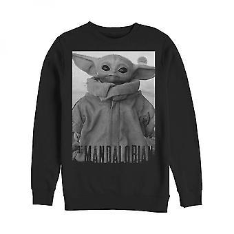 Star Wars The Mandalorian The Child Noir Sweatshirt
