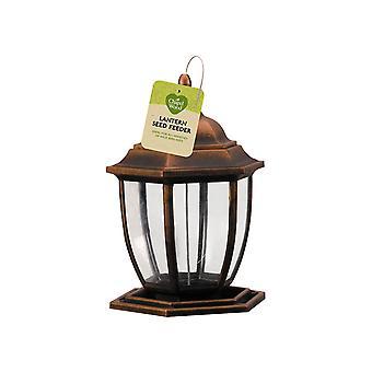 Chapelwood Lantern Seed Feeder Bronze 7510013