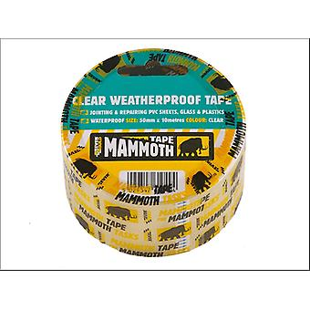Everbuild Mammoth Clear Waterproof Tape 50mm x 10m