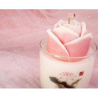 Minhwa Rose - Duft olie stearinlys