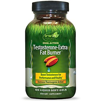 Irwin Naturals Testosterone-Extra Fat Burner (60 Softgels)