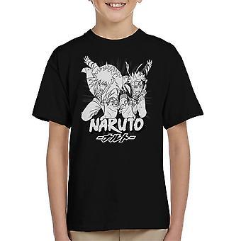 Naruto And Minato Storming Kid's T-Shirt
