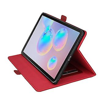Leather Anti-fall case for Samsung Galaxy Tab S5e T720 T725 red