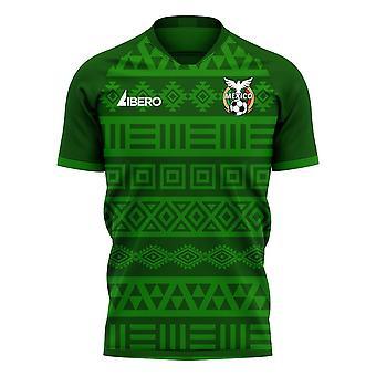 Mexique 2020-2021 Home Concept Football Kit (Libero)