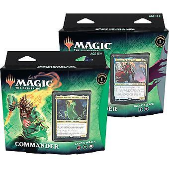 Magic The Gathering - 2-Pack Zendikar Rising Commander Decks