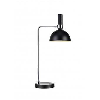 Tafellamp Larry Black 1 Lamp