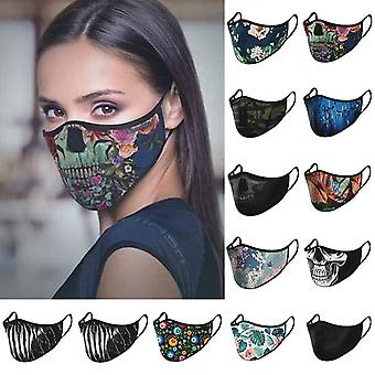 Fashion Scarf Cotton, Facemask, Faceshield Cloth