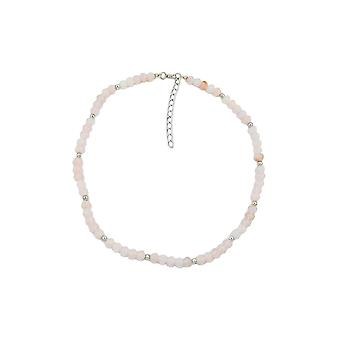 Necklace Beads Pink 42cm