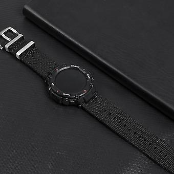 Nylon Watch Band For T-rex Charger Canvas Strap Screen Film Charging Dock