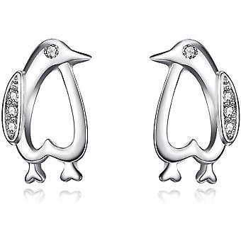 YFN Sterling Silver Earrings Cute Animal Stud Earrings Jewellery Gifts for Girls