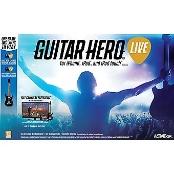 Guitar Hero Live avec Guitar Controller iPhone, iPad, iPod Touch