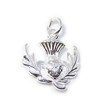 Chardon Sterling Silver Charm .925 X 1 Chardons &Charmes écossais - 8235