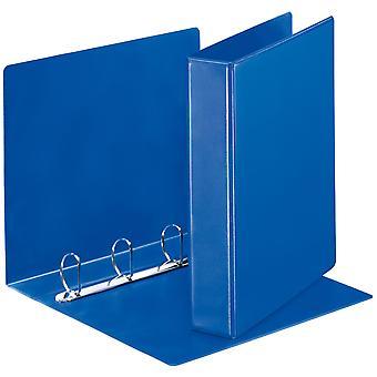 Esselte 49762 Essentials Presentation Binder 4 D Ring 40mm Capacity Blue