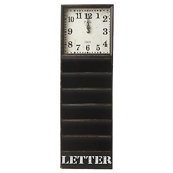 Letter Rack Clock By Heaven Sends
