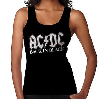 AC/DC Back In Black Women's Vest
