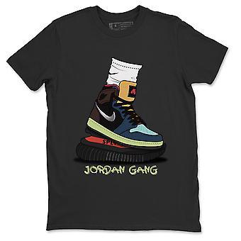 Jordanien Gang Jordanien 1 Tokyo Bio Hack Sneaker T-shirts - AJ1 Outfits