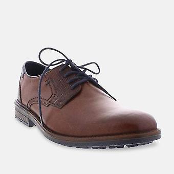 ريكر b1321-25 البني الدانتيل حتى الأحذية