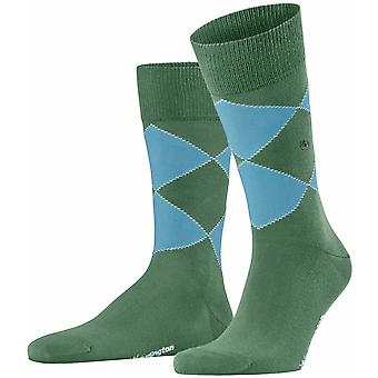 Chaussettes Burlington Kingston - Khaki Green
