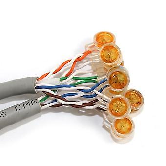 Tilslutningsterminaler K1-stik Vandtæt Ledningsforbindelse Ethernet-kabel